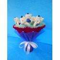 Букет из игрушек на подставке (ПМ-001684)