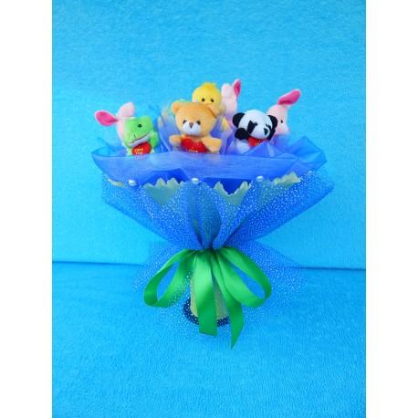 Букет из игрушек на подставке (ПМ-001685)