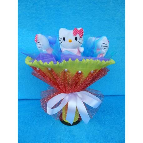 Букет из игрушек на подставке (ПМ-001701)
