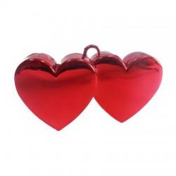 """Грузик для шаров """" 2 сердца"""""""