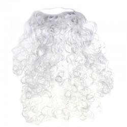 Борода Деда Мороза кудрявая 40см