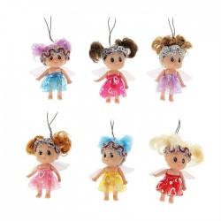 Подвеска куколка-ангелочек