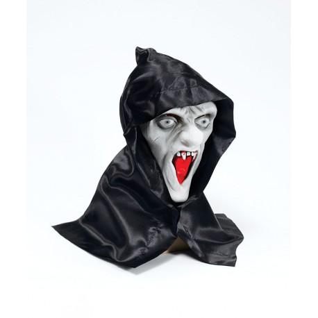 """Латексная маска """"Зомби в капюшоне"""""""