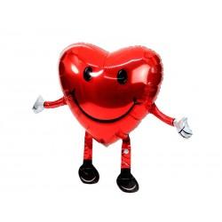 """Ходячая фигура """"сердце с улыбкой"""""""