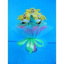 Букет из игрушек на подставке (ПМ-0026139)