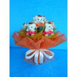 Букет из игрушек на подставке (ПМ-0026144)