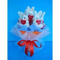 Букет из игрушек на подставке (ПМ-0026146)