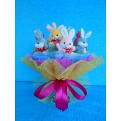 Букет из игрушек на подставке (ПМ-0026148)