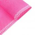 Бумага гофрированная 50*70см горошек на розовом (1лист)