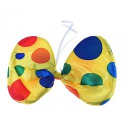 """Бант бабочка """"Клоун"""" ткань"""