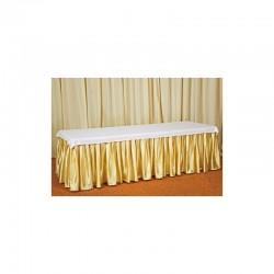 Фуршетная юбка (золото)