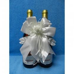 "Вязка ""8"" на две бутылки (белая)  СК-000837"