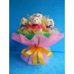 Букет из игрушек на подставке (ПМ-0026664)