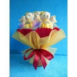 Букет из игрушек на подставке (ПМ-0026665)