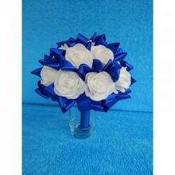 """Букет дублер """"15 роз"""" (латекс) (синий)"""