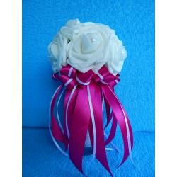 """Букет дублер """"7 роз"""" (латекс) (малиновый)"""