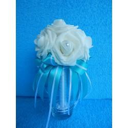 "Букет дублер ""7 роз"" (латекс) (бирюзовый)"