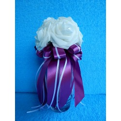 "Букет дублер ""7 роз"" (латекс) (фиолетовый)"