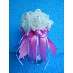 "Букет дублер ""7 роз"" (латекс) (розовый)"