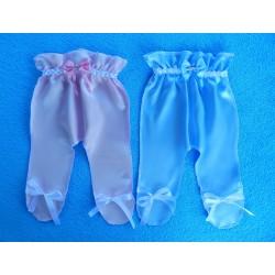 """Ползунки для денег """"На мальчика или девочку.."""" (атлас) нежно-розовые + нежно-голубые"""
