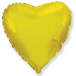 Сердце 9/23см (золото)