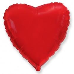 Сердце 9/23см (красное)