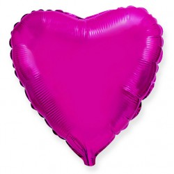 Сердце 18/45см (пурпурное)