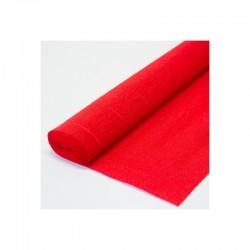 Гофра бумага в рулоне 50*2,5 (180гр) красная