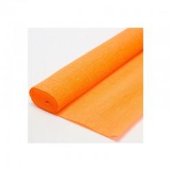 Гофра бумага в рулоне 50*2,5 (180гр) оранжевая