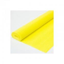 Гофра бумага в рулоне 50*2,5 (180гр) желтая