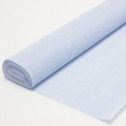 Гофра бумага в рулоне 50*2,5 (180гр) нежно-голубая