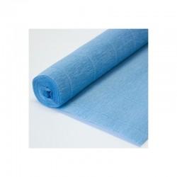 Гофра бумага в рулоне 50*2,5 (180гр) голубая