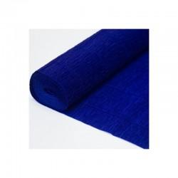 Гофра бумага в рулоне 50*2,5 (180гр) синяя