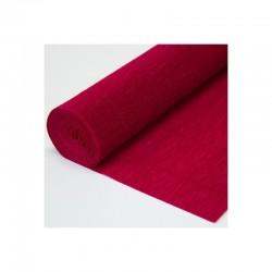 Гофра бумага в рулоне 50*2,5 (180гр) темно-красная