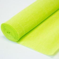 Гофра бумага в рулоне 50*2,5 (180гр) салатовая