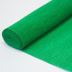 Гофра бумага в рулоне 50*2,5 (180гр) зеленая