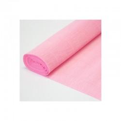 Гофра бумага в рулоне 50*2,5 (180гр) розовая