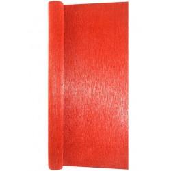 Гофра бумага в рулоне 50*2,5 (металл 180гр) красная