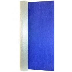Гофра бумага в рулоне 50*2,5 (металл 180гр) синяя