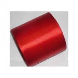 Лента 10 см атлас (1м) красная