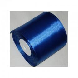 Лента 10 см атлас (1м) синяя