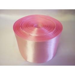 Лента 10 см атлас (1м) розовая