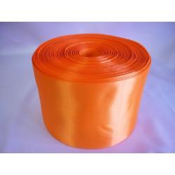 Лента 10 см атлас (1м) оранжевая