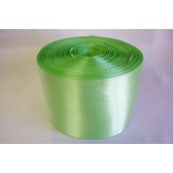 Лента 10 см атлас (1м) зеленый