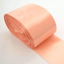Лента 10 см атлас (1м) персиковая