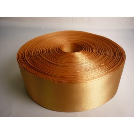 Лента 5 см атлас (1м) золото