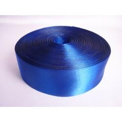 Лента 5 см атлас (1м) синяя
