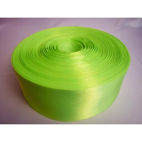 Лента 5 см атлас (1м) салатовая