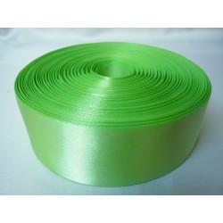 Лента 5 см атлас (1м) зеленый
