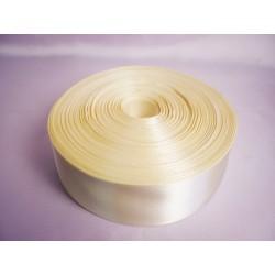 Лента 5 см атлас (1м) светлое золото
